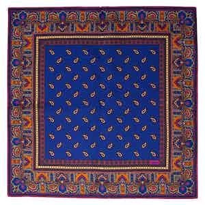 Prune Recioto Silk Pocket Square