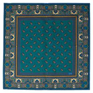 Eucalyptus Recioto Silk Pocket Square