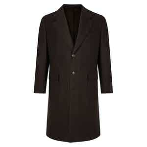 Single Breasted Brown Malatesta Coat