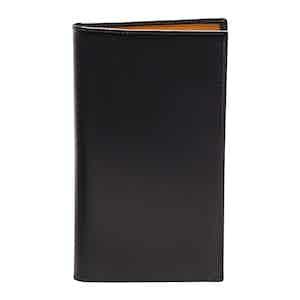 Black Bridle Hide Wallet with 8 C/C