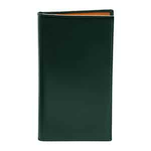 Green Bridle Hide Coat Wallet with 8 C/C