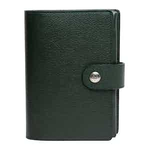 Forest Green Goat Leather Capra Pill Case