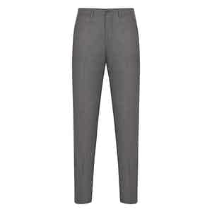 Mid Grey Flannel Trousers