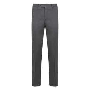 Mid Grey Wool Trousers