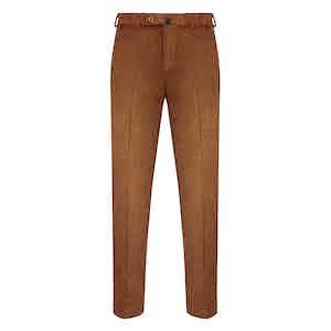 Rust Corduroy Trousers