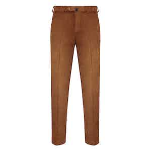 Rust Corduroy Trousers