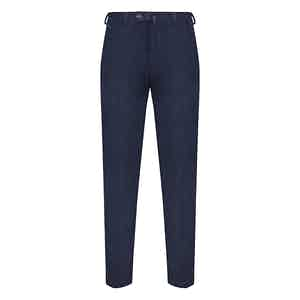 Navy Blue Corduroy Trousers