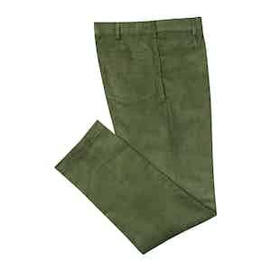 PML by Pomella Green Five Pocket Trousers