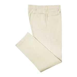 PML by Pomella White Five Pocket Trousers