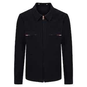 Navy Moleskin Mechanic Jacket