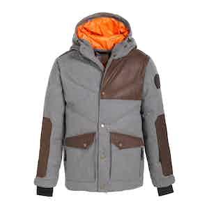 Grey Wool Downhill '27 Jacket