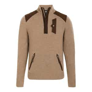 Camel Cashmere Alpine Guide Sweater