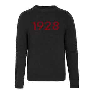 Inferno Cashmere Ski Race Knit Jumper