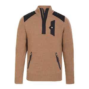 Camel Alpine Guide Sweater