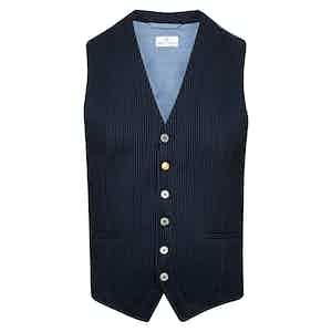 Navy Classico Waistcoat