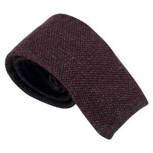 Grey and Red Wool Maglia Tieone size