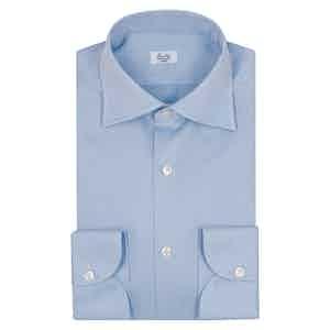 Light Blue Oxford Cotton Business Shirt