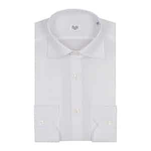 White Oxford Cotton Business Shirt