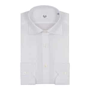 White Oxford Cotton Business Shirt