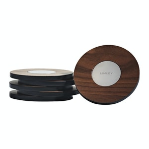 Walnut Magnetic Coasters
