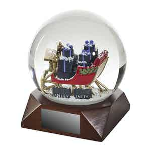 Snow Globe Sleigh