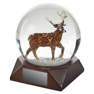 Snow Globe Stag