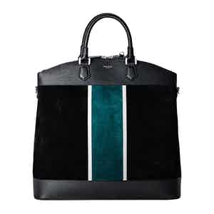 Black & Forest Green Leisure 14 North/South Bag