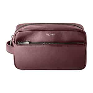 Burgundy Grape Eco Craft Washbag