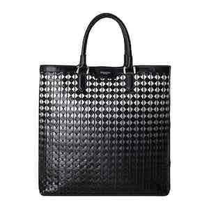 Chiaroscuro Mosaico Vertical Tote Bag
