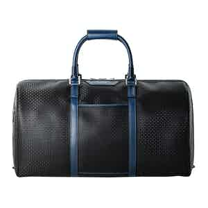 Black Stepan & Cosmo Blue Holdall
