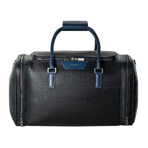 Black Stepan & Cosmo Blue Compact Holdall