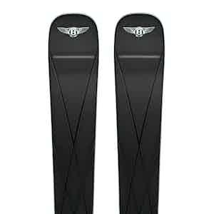 Black Bentley Diamond with Binding Skis