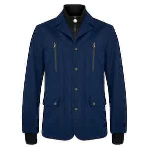 Navy Alpine Ski Jacket