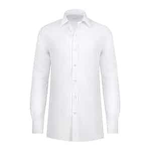 Ice White Cotton Shirt