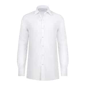 Ice White Cotton Shirt