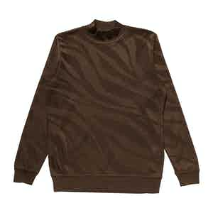 Dark Brown Japanese Serie Frankland Quarter Neck Jersey