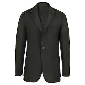 Green Cashmere Blazer