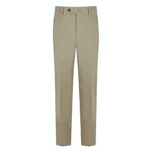 Taupe Cotton Trouser