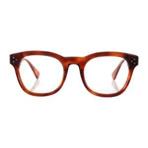 Dark Tortoiseshell Hughes Optical Frames