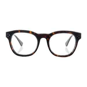 Light Tortoiseshell Hughes Optical Frames