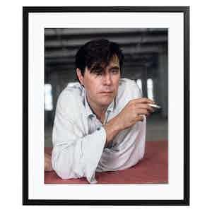 Bryan Ferry Smoking, Colour Print