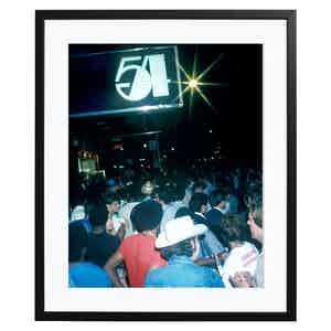 Waiting at Studio 54, Colour Print