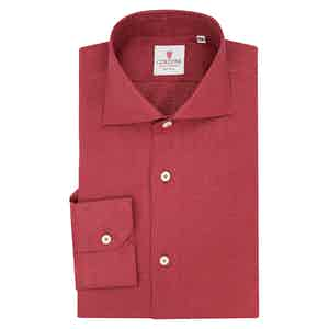 Bordeaux Linen Shirt