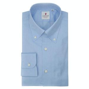 Blue Cotton Positano Panama Classic Shirt