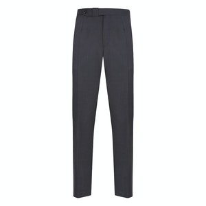 Mid Grey Wool Fico Trousers
