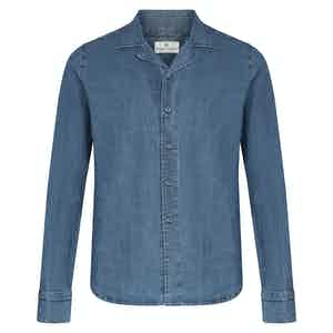 Indigo Denim Spritz Overshirt