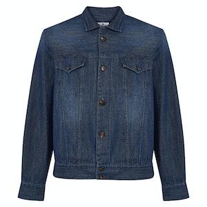 Indigo Cotton Classic Denim Jacket