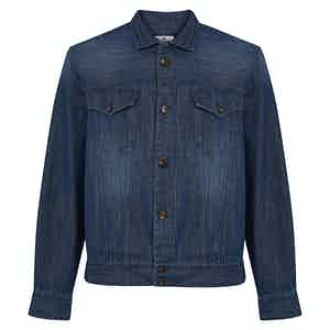 Indigo Cotton Classic Denim Jacket