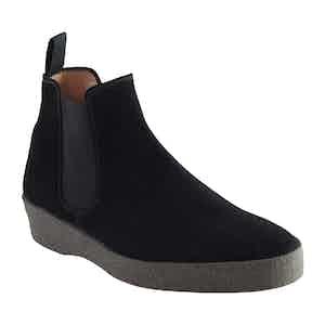 Black Suede Adam Chelsea Boot