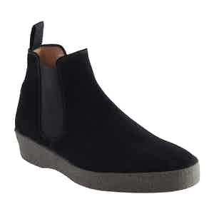 Black Suede Adam Chelsea Boot